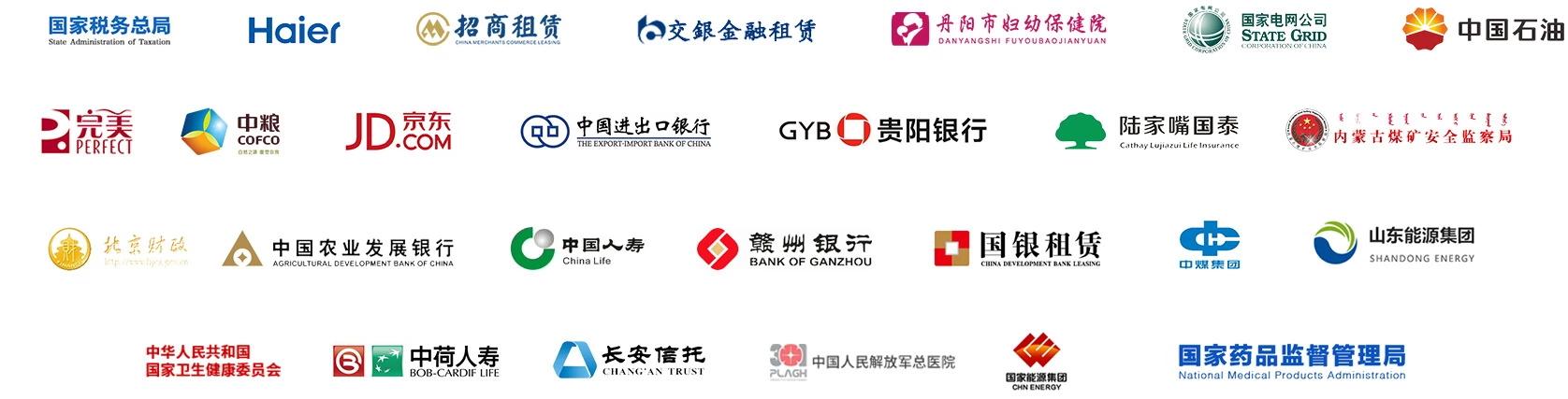 华宇典型客户logo